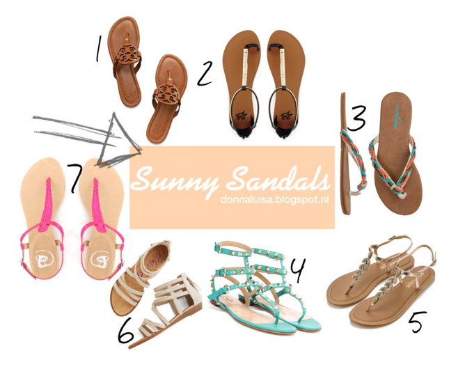 INSPIRATION: Sunny sandals