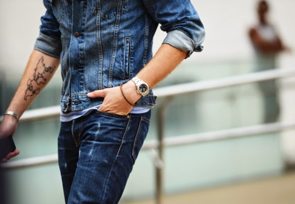 ABOUT MEN #2: Denim all over