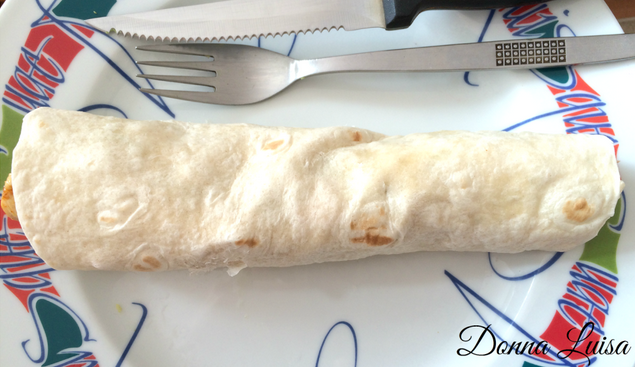 FOOD: Wraps for lunch!