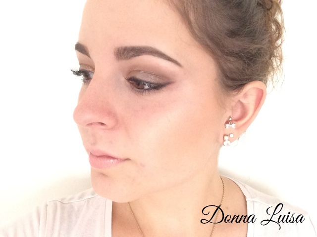 Party make-up look