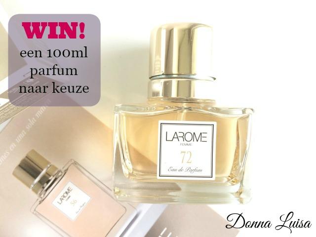 Winactie: een 100ml parfum naar keuze!